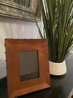 Leather Photo picture Frame stately luxury estate Drexel Heritage Classic