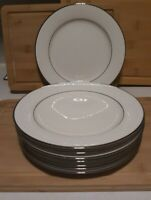 "Vintage Noritake Fine Ivory China 7565 Sorrento 8 1/4"" Salad Plates Set of 8"