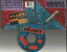 HEART You're the Voice w/ 3 RARE LIVE TRX USA CD single 1991 ann nancy Wilson