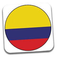 Columbia Columbian Flag Drinks Coaster - Gift - Birthday - Stocking Filler