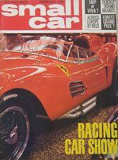 Small Car magazine 02/1964 featuring MGB, Vauxhall Viva, Hillman IMP, Renault