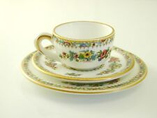 Coalport miniature cup saucer and side plate ming rose excellent condition