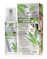 Dr. Organic bioactive HEMP oil Hair & Scalp Restoring Treatment Hair Loss 150ml