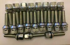 M12X1.5 X 20 40 mm Hilo Wobbly Pernos de rueda de aleación de corrección PCD Saab 65.1 1