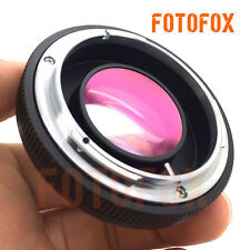 Canon FD-FX lens Reducer Speed Booster Turbo adapter to Fuji X100 X-T1 M1 X-E2