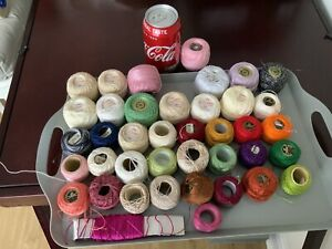 Crochet Thread Job Lot
