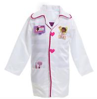 Disney Junior Doc McStuffins Doctors Coat Toy Play Pretend Set NEW size 4-6