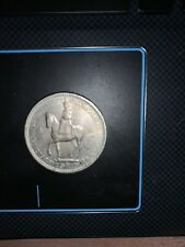 More details for 1953 queen elizabeth coronation 5 shilling coin engraved writing on edges