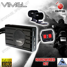 Dual Bike Camera Motorcycle GPS 1080 Twin Car Waterproof Hardwired Truck Best