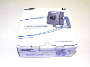 Samsung SCB-3021N Day/Night 600 TV Line 16X Digital Zoom Analog Box Camera