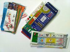 1992 - 2013 GEORGIA ARMENIA MOLDOVA LITHUANIA LATVIA ESTONIA Tickets WC EURO Fr