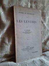 études et recherches sur les levures par Boulard