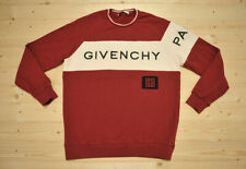 Mens GIVENCHY Paris 4G Embroidery Slim Fit Sweatshirt size M