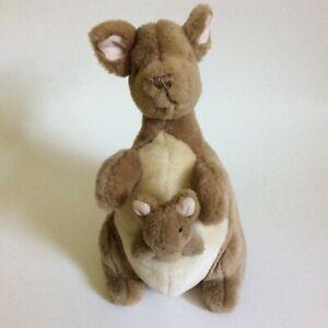"Gund Disney Classic Pooh Kanga and Roo Plush 10"" Stuffed Animal Kangaroo Baby"