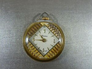 VTG LUCERNE SWISS MADE MECHANICAL PENDANT WATCH IN WORKING CONDITION