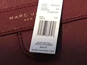Marc Jacobs Mini The Liason PVC Crossbody Bag Color Cranberry NWT