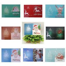 DIY Diamond Painting 5D Christmas Greeting Cards Cross Stitch Embroidery Decor