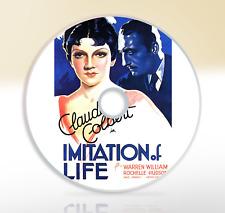 Imitation Of Life (1934) DVD Classic Drama Film / Movie Claudette Colbert