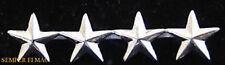 FOUR 4 STAR GENERAL COLLAR HAT LAPEL PIN UP US MARINES VETERAN GIFT USMC O-10