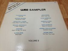 "CROSBY, STILLS & NASH - FLEETWOOD MAC LP "" WEA Sampler Vol. 9 "" Canada 1985'"