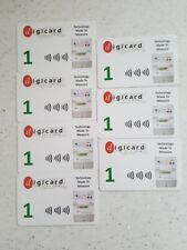Card Meter Prepayment RFID 7 x £1.00
