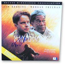 Tim Robbins Autographed Laserdisc Cover The Shawshank Redemption JSA U16581