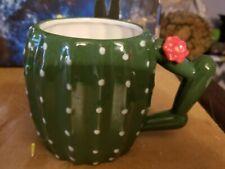 Ceramic Cactus Mug Coffee Cup
