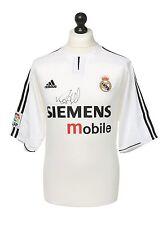 Ronaldo Signed Real Madrid Shirt Autograph 2003/2004 Jersey Memorabilia + COA