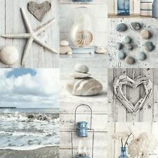 Arthouse Maritime Wallpaper Ocean Collage Beach Nautical Hearts Shells 699000