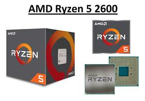 AMD Ryzen 5 2600 Hexa Core Processor 3.4 - 3.9 GHz, Socket AM4, 65W CPU Only
