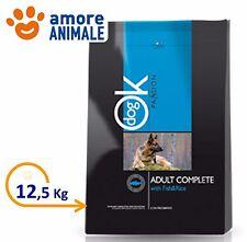 Ok Dog Passion Adult Complete Pesce & Riso 12,5 kg - Crocchette per cane cani