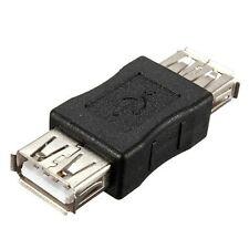 2 X USB 2.0 Verbinder Buchse Kupplung Adapter A Buchse auf A Buchse Konverter