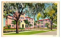 Pugsley and Mayflower Halls, Rollins College, Winter Park, FL Postcard *6S(3)25
