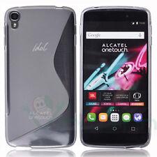 "Custodia cover WAVE Bianco trasparente p Alcatel One Touch Idol 3 5.5"""