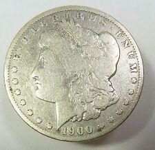 1900-O Silver Morgan Dollar $1 Us Coin Item #9138