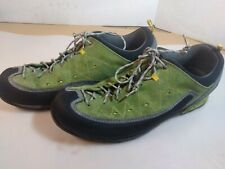 Mens Asolo Green Hiking Approach Gore-Tex Vibram  Sole Shoes - 8.5 EUC