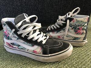 * VANS * Sk8 High * Sneaker * Punk * Grunge * Hippie * Flower * Gr. 38 *