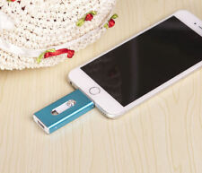New 32GB Blue OTG Dual USB Memory i Flash Drive U Disk For IOS iPhone iPad/PC