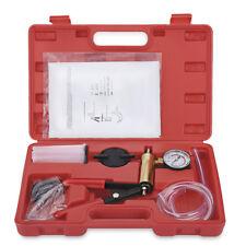 Multi-FunctionHand Held Vacuum Pump Tester Set And Brake Bleeder Kit Vacuum Gaug