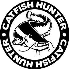 Catfish Hunter  Match vinyl decal / sticker lines / lures / Angling decal