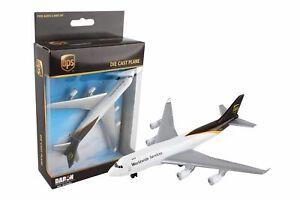 Daron UPS Single Die-Cast Collectible Plane