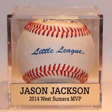 Baseball Cube Display Case with FREE Nameplate