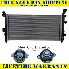 Radiator With Cap For Chevy Pontiac Fits Venture Montana Uplander 3.4 3.5 2562WC