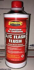 Supercool #22762 Air Conditioning Flash Flush 32 Oz Can