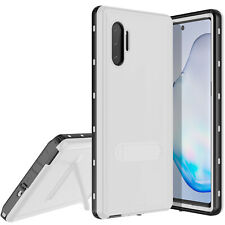 For Samsung Galaxy Note 10 / 10+ Plus Life Waterproof Case Cover with Kickstand