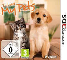 I Love My Pets (Nintendo 3DS, 2013, Keep Case)