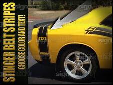Bumble Bee Belt Racing Stripe Fits 2009 2014 Challenger Rt Srt 8 Sxt