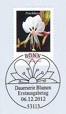 BRD 2012: Die Prachtkerze Nr. 2969 mit dem Bonner Ersttags-Sonderstempel! 1A