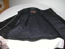 Harley Davidson Giubbotto da motociclista in pelle nera usato pochissimo taglia