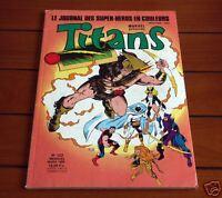 TITANS N°122 1989 Marvel SEMIC - TTBE !